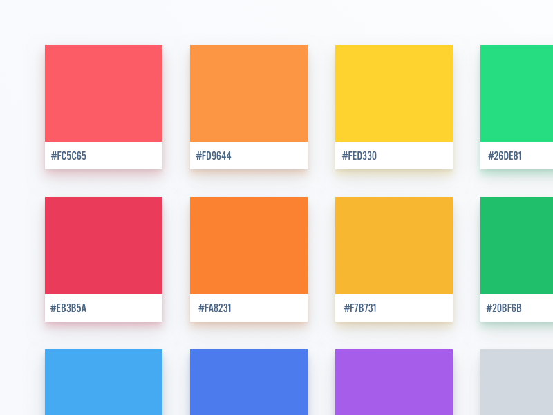 Flat Ui Colors 2 German Palette By Martin David Dribbble Dribbble