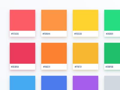 Flat UI Colors 2 - German Palette
