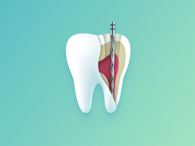 tooth root real project root canal treatment root tooth iconography illustration icon icons