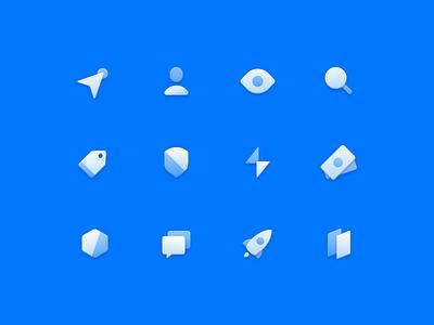 Iconset skeuomorphic layer styles skeumin iconset iconography illustration icon icons