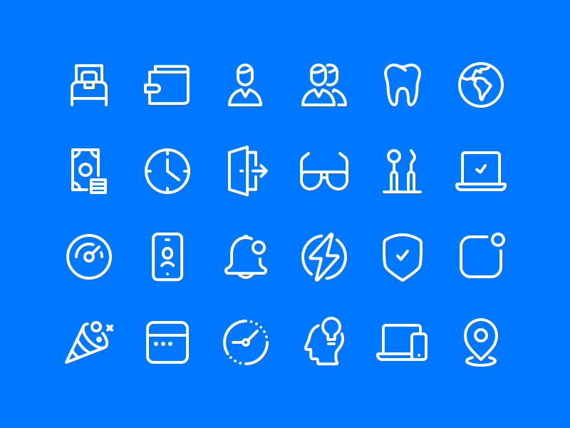 Line Iconset iconset glyph icon set iconography illustration icon icons