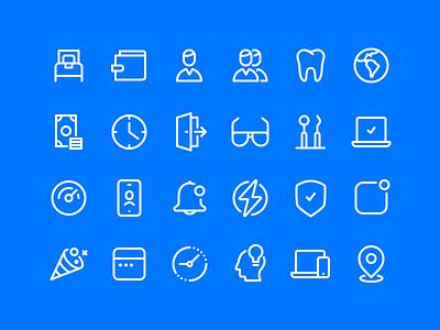 Line Iconset iconset glyph icon set iconography illustration icon icons