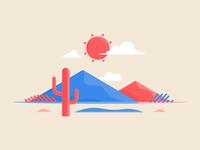 #vectober - 3 - Desert