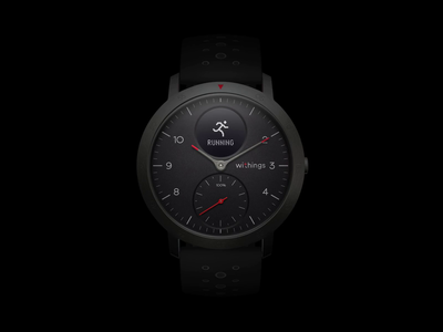 Withings Steel HR Sport Iconography
