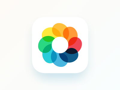 camera app  icon icon artwork camera o logo shutter lens picture photo app ios iconography icon