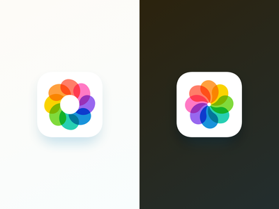 camera app icon two camera logo mark photo app camera ios icon app iconography icon