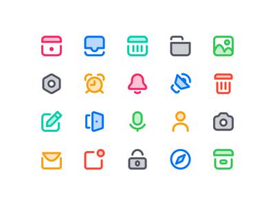 Wunderlist Iconography 2019 camera folder calender icon app wunderlist symbol mark icons iconset icon set iconography