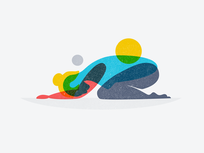yoga illustration illustrations overprint multiply women health yoga illustration
