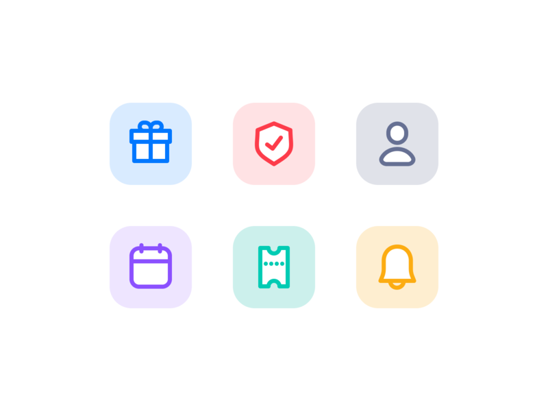 icon set lined lines iconography icons set iconset icons