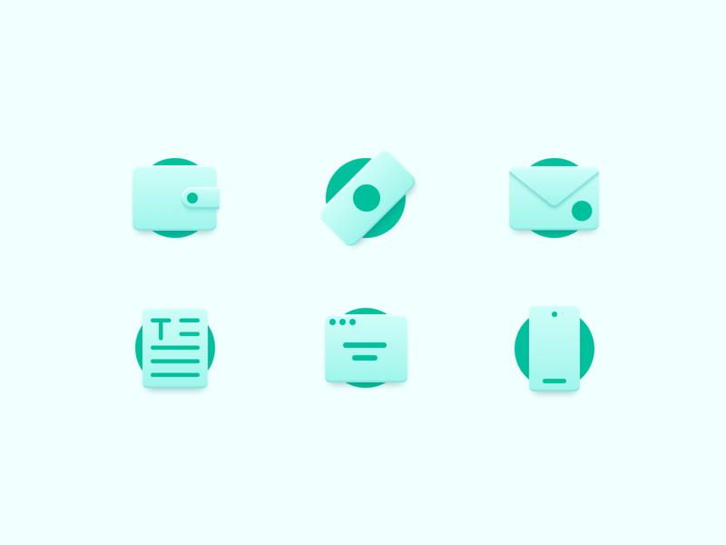 Style exploration icons phone browser text money email icons pack icon set iconset iconography icons
