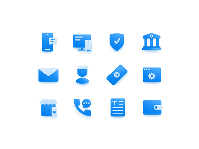 Payment Service Icons email bank cash money payment icon pack icon set iconset icons iconography
