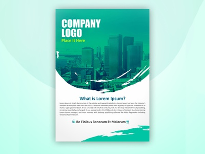 company Brochure design vector branding brochure template brochure design