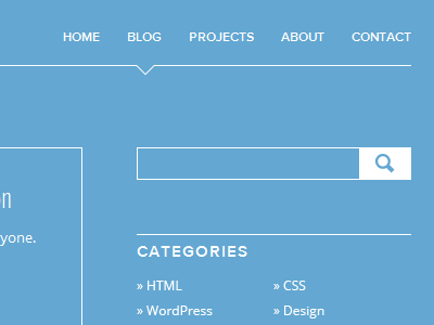 Preview: Redesign & Blog blog search blue lines