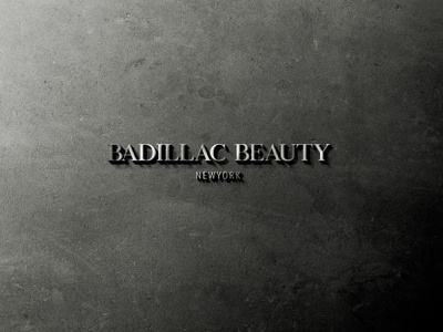 Badillac Beauty logodesgn vector typography uiux graphicdesign website graphic design animation 3d motion graphics dashboad design userinterface uxdesign userexperiencedesign uidesign ui logo branding illustration