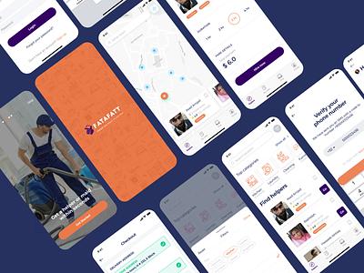 FataFatt App 3d animation logodesign uxstrategy userexperience mobileui app uxdesign uidesign ui ux vector logo motion graphics illustration design graphic design branding dashboad