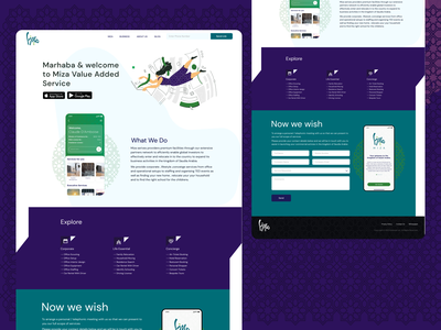 Landing Page user interface user experience ux strategy website landing page 3d animation ux ui vector motion graphics logo illustration graphic design design dashboad branding