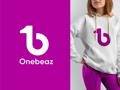Onebeaz logo design vector passion luxury wellness minimalist minimal clothing fashion custom business modern icon app logo design logo graphic design flat design creative branding