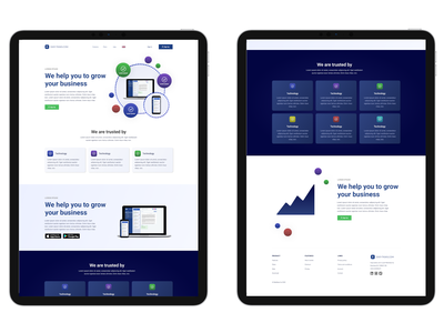 App Landing Page Web Design Concept ui figma design web design web landing page app