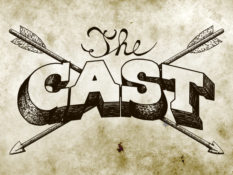 The Cast cactus buffalo gun lady indian sheriff wild west cast