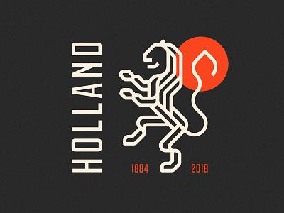 Holland Logo Redesign redesign holland lionlogo worldcuplogochallenge branddesign visualidentity sylvanhillebrand dribbble behance graphicdesign identitydesign logodesign