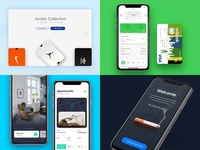 Top 2018 concept interface ux mobile app ui animation