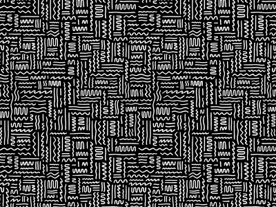 Squiggles wallpaper repeat pattern lines illustrations doodle squiggle