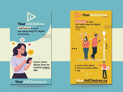 Digital billboards design for ads illustrator vector designer identity typography art designinspiration graphic design design branding