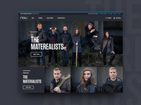 """Nau Clothing """"The Materealists"""" Landing Page"""