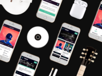 CD Baby Mobile Application