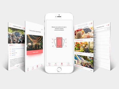 MyMarket App Concept Design