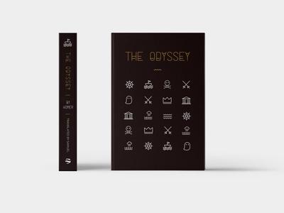 The Odyssey Book Cover Design