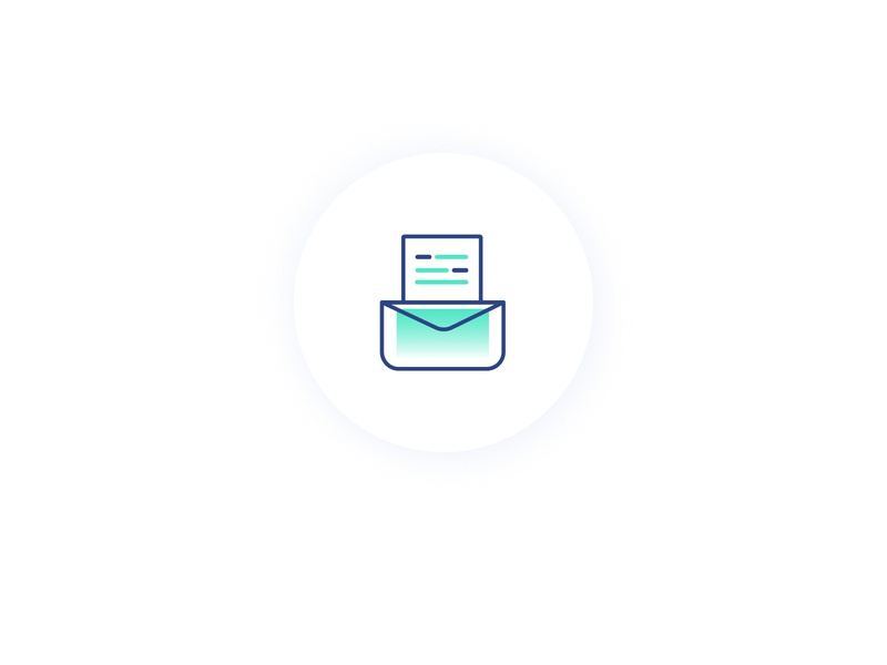 How LUCA+ Works Icon accounting navy mint illustration branding logo ui icon
