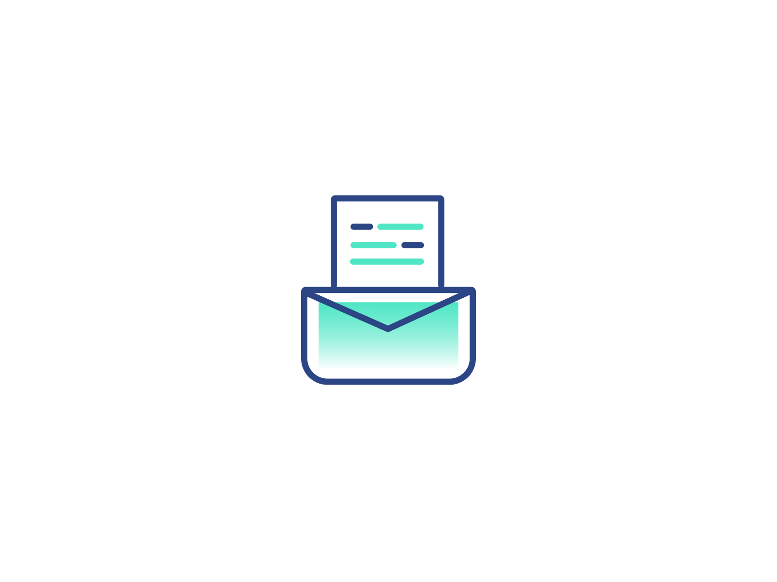 Send Invoice Icon By Rachel Li On Dribbble