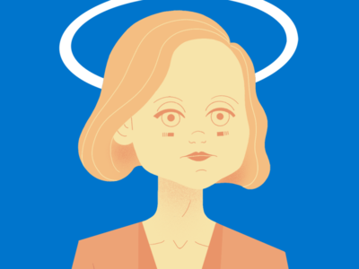 DEVS: Katie actress tv series devs alison pill katie portrait character illustration
