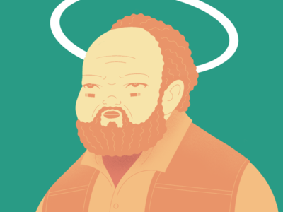 DEVS: Stephen actor tv series stephen mckinley henderson devs portrait character illustration