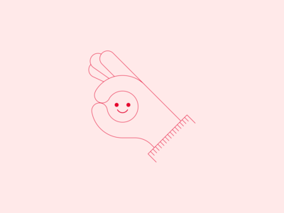 it's okay spot illustration smiley face smiles smiley hand design vector line minimal illustration okay