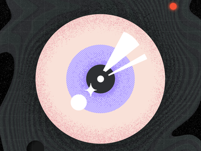 Day #8 Inktober 2021 — Watch hipnotising texture challenge inktober 2021 watch eye illustration