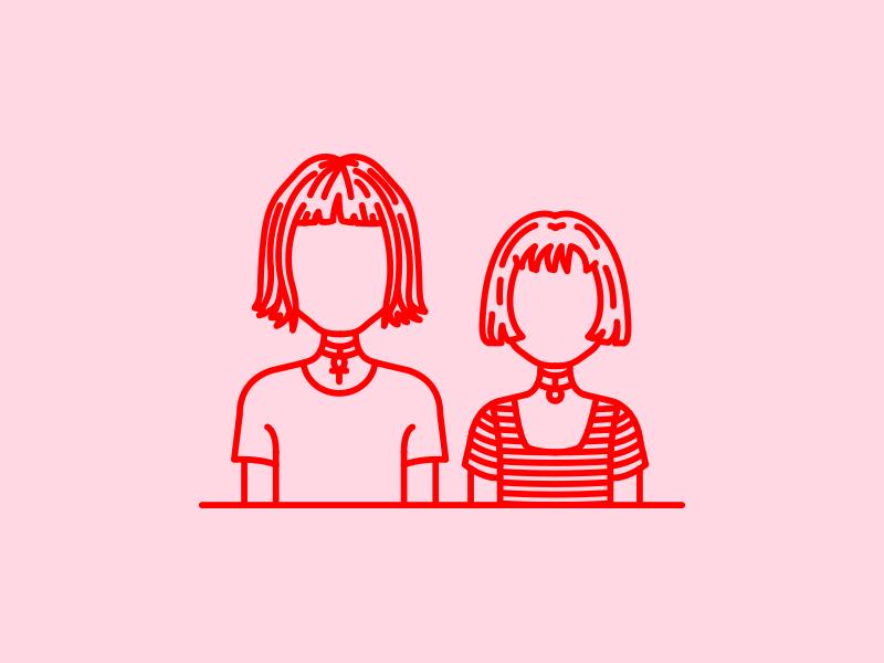 Tokyo vs  Mathilda by Sofia Ayuso on Dribbble