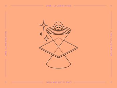 Monstera Box #03: Light Cone