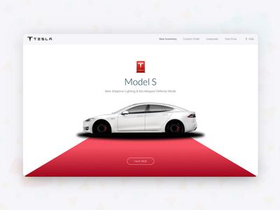 Tesla Redesign For Model S