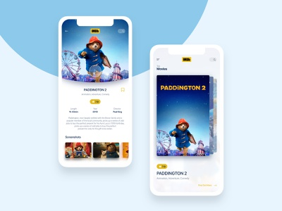 IMDb App Redesign Concept design trends redesign concept design ideas rating concept imdb app ui trending trend 2019 typography illustration trendy design dribbble best shot interface app ui