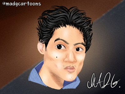 Caricatures - Commission 2 - Dante Basco american dragon atla avatar avatars filipino dante basco childrens book illustration children illustration color character design concept childrens illustration character cartoon