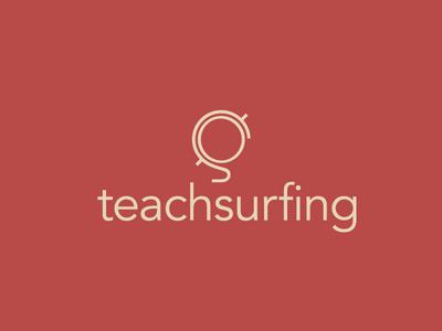 Teachsurfing Logo