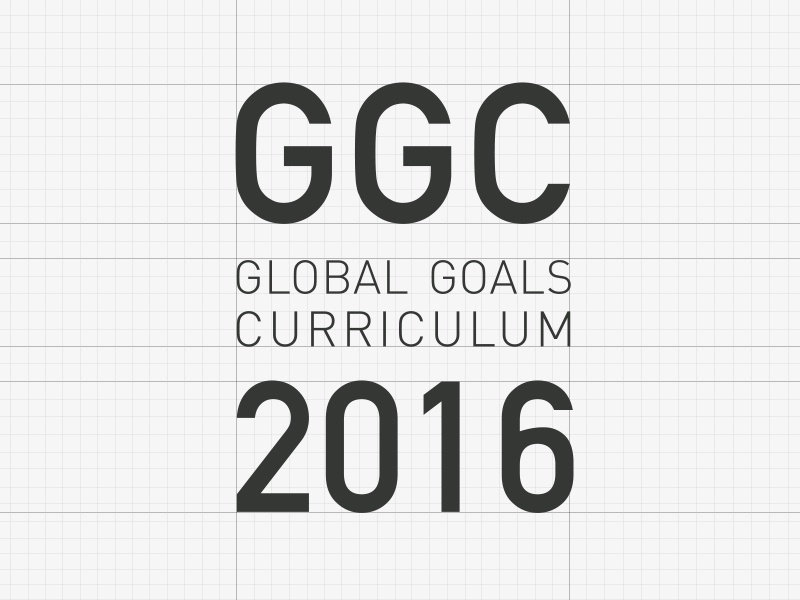 GGC Logo social goals global germany education conference design branding logo