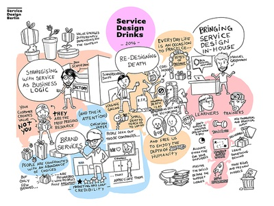 Service Design Drinks 2016