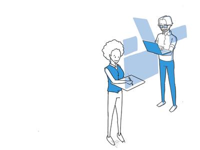 Illustration Exploration for the Boana website