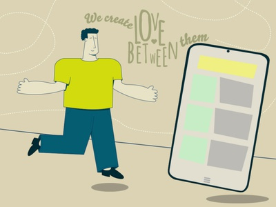 Just love your app! design ilustration
