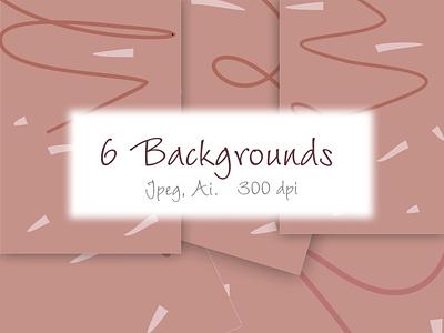 Backrounds branding ux ui fashion brand style vector design illustration