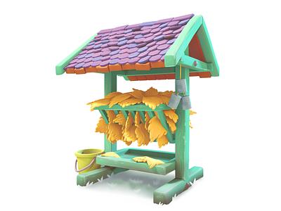 feeder 3d gameart mobile illustration game
