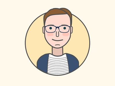 My new avatar vector portrait icon person illustration avatar